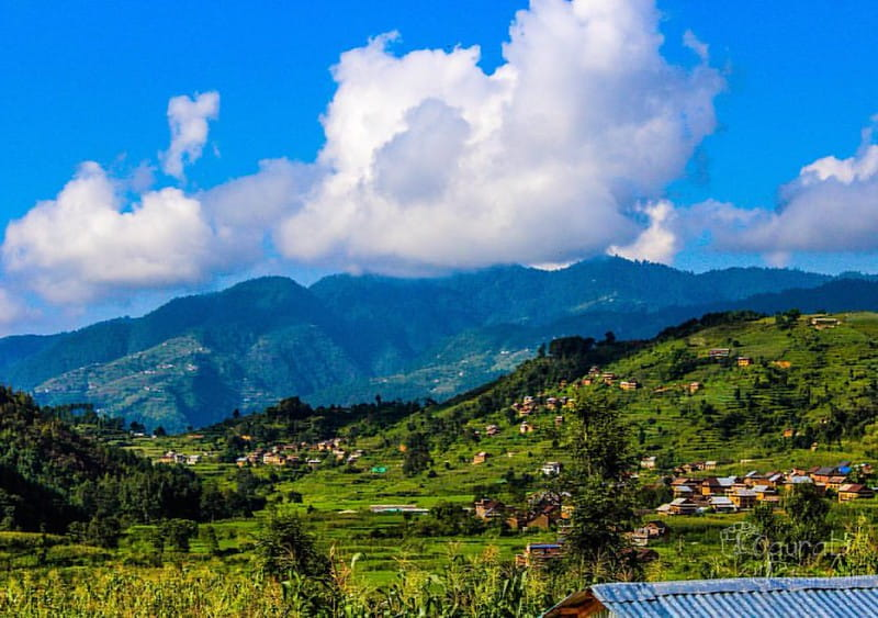 Chitlang Hill Station of Nepal