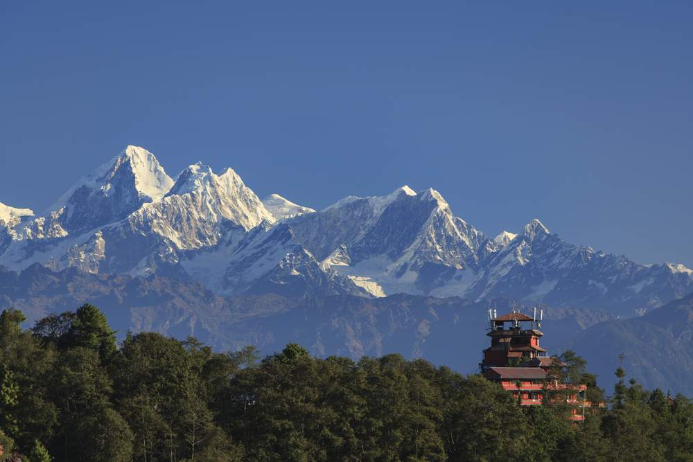 Mountain Range of Nagarkot