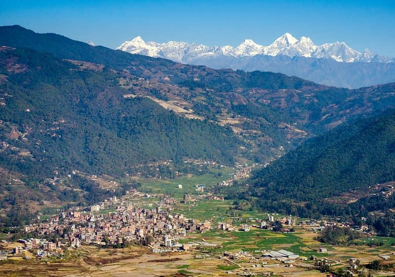 Nagarkot Hill Station of Nepal