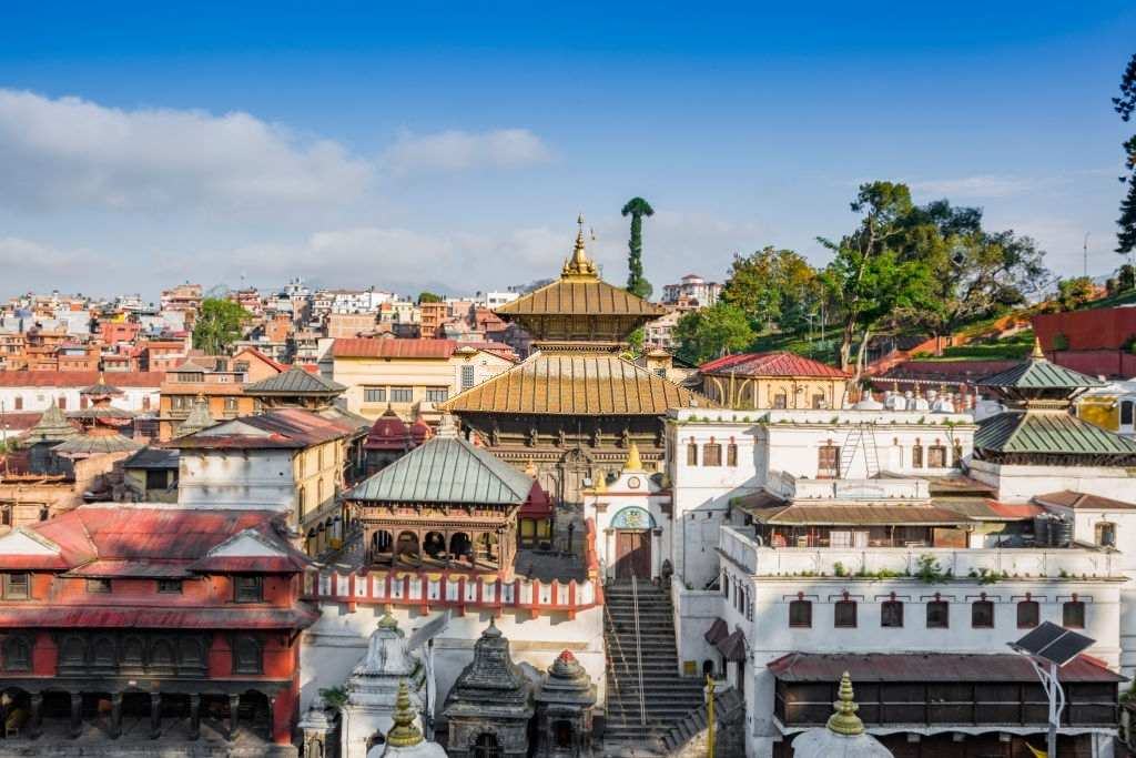 Religious center for Hindus: Pashupatinath Temple