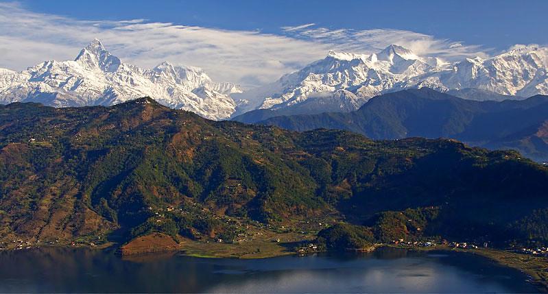Pokhara Hill Station of Nepal