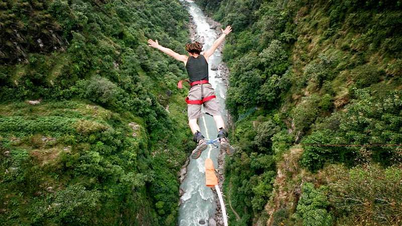 Top 3 Places for Bungee Jumping in Nepal